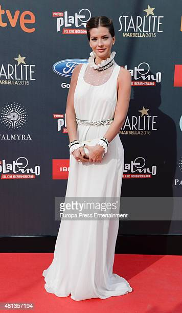 China Suarez attends Platino Awards Gala on July 18 2015 in Marbella Spain