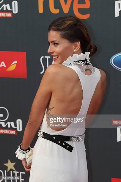 China Suarez girlfriend of David Bisbal attends TNTLA Platino Awards 2015 at Starlight Marbella on July 18 2015 in Marbella Spain