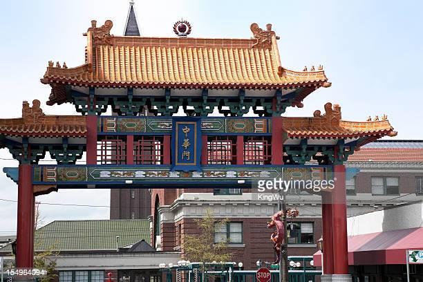China Town Gate Detail