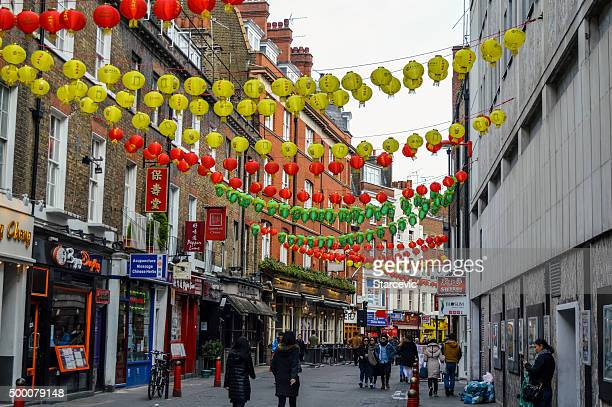 China Town in London, UK during the day