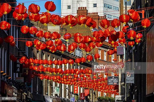 China Town in London, UK