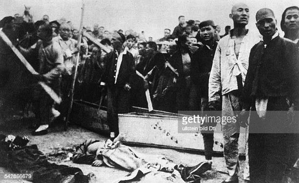 China Unrest / civil war After the splitup of Kuomintang and the Communist Party 1927 massacre of communists in Shanghai whose leaders were captured...