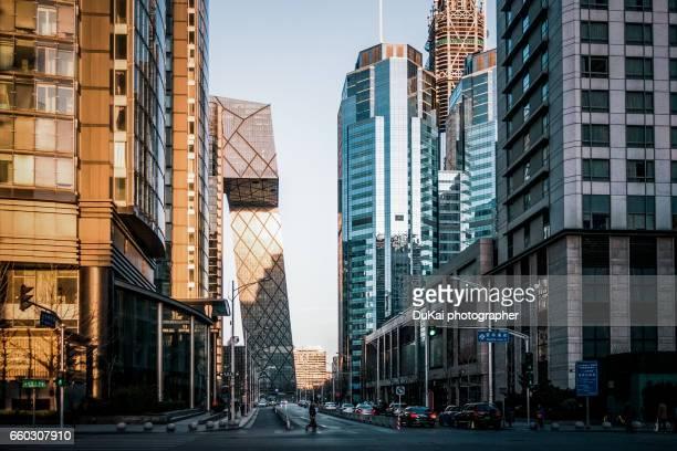 china world trade center - pékin photos et images de collection