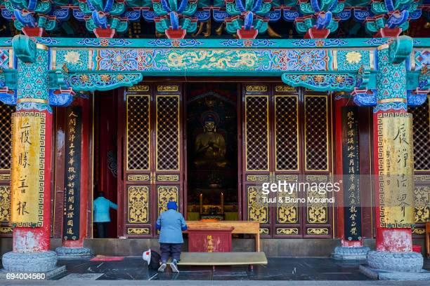 china, yunnan, kunming, yuantong temple - yunnan province stock pictures, royalty-free photos & images
