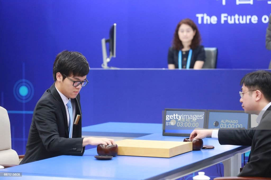 CHINA-SCIENCE-COMPUTERS-AI-RESEARCH-GAME-GO : News Photo