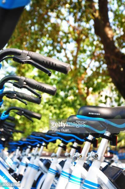 China's bike sharing boom in charts.