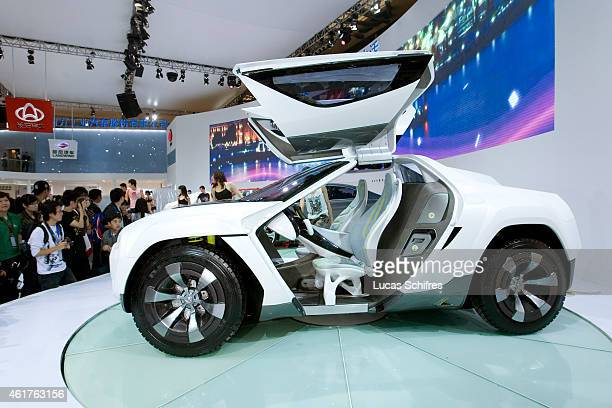 China's Chang'An automaker displays a SUV concept car during Shanghai Motor Show on April 20 2009 in Shanghai China Shanghai auto show opened Monday...