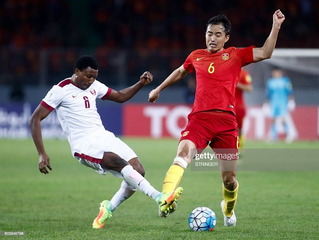 Most Inspiring China World Cup 2018 - chinas-feng-xiaoting-competes-for-the-ball-with-qatars-mohammed-picture-id623340798  Picture_124128 .com/photos/chinas-feng-xiaoting-competes-for-the-ball-with-qatars-mohammed-picture-id623340798