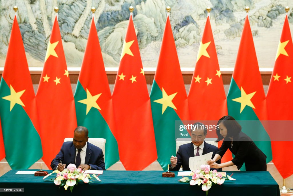 Burkina Faso Foreign Minister Alpha Barry Visits China To Establish Diplomatic Ties