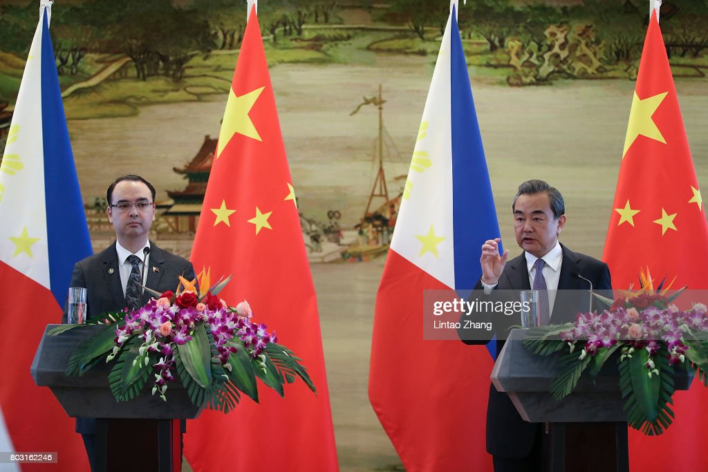 Philippine Foreign Minister Cayetano Visits China