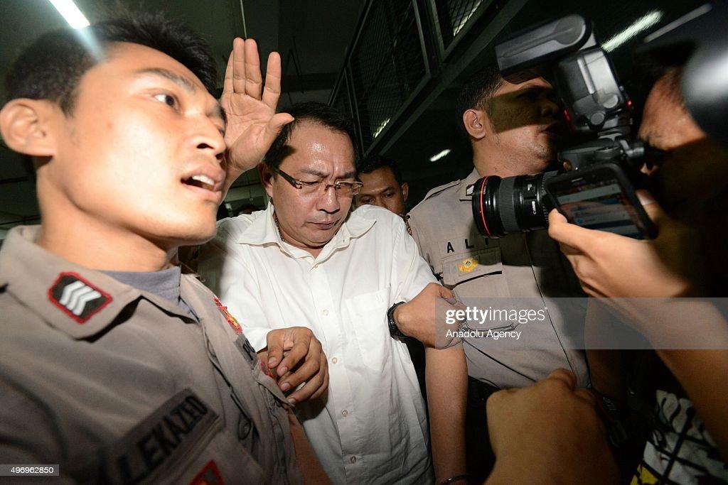 Hong Kong's Drug Smuggler Wong Chi Ping's Trial in Jakarta : News Photo