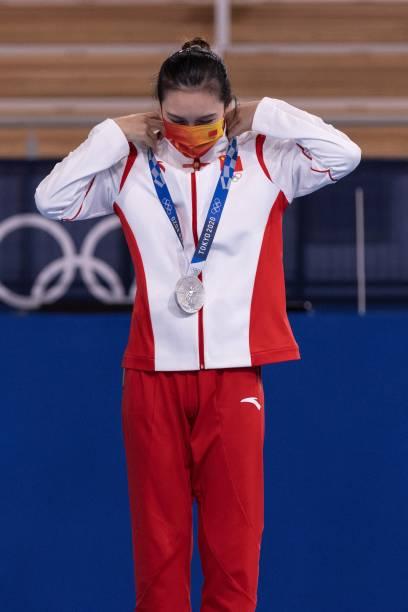 JPN: Gymnastics - Rhythmic - Olympics: Day 15