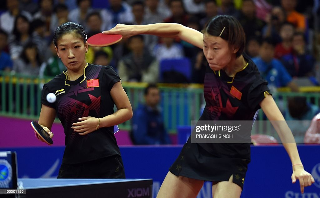 ASIAD-2014-TTENNIS-CHN-PRK : News Photo