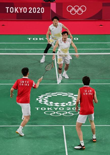 JPN: Badminton - Olympics: Day 4