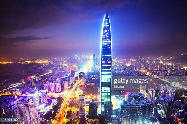 Megacity Shenzhen, China