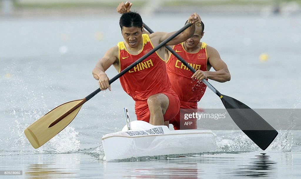 China's Meng Guanliang and Yang Wenjun c : Nachrichtenfoto