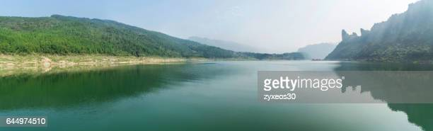 China's natural scenery of the Yangtze river in hubei province