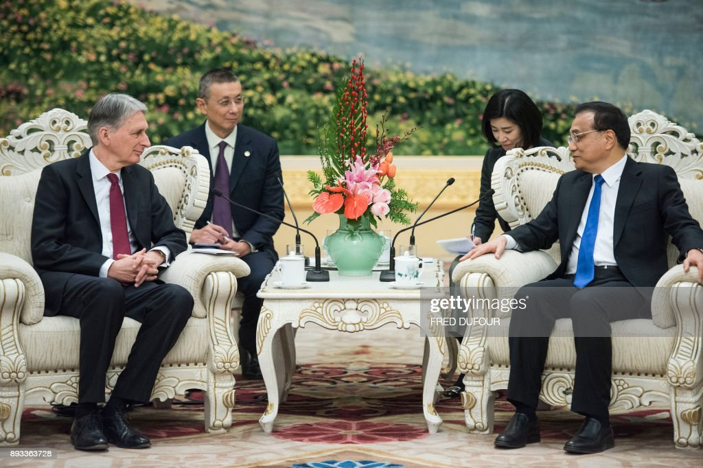 CHINA-BRITAIN-DIPLOMACY : News Photo