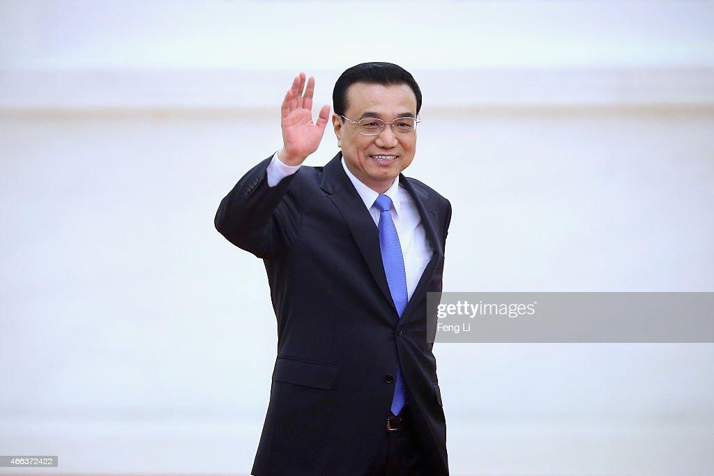 Premier Li Keqiang Holds A Press Conference
