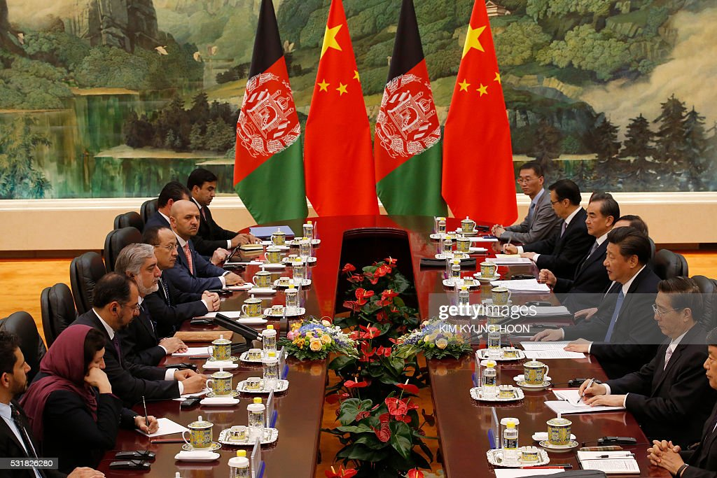 CHINA-AFGHANISTAN-DIPLOMACY : News Photo