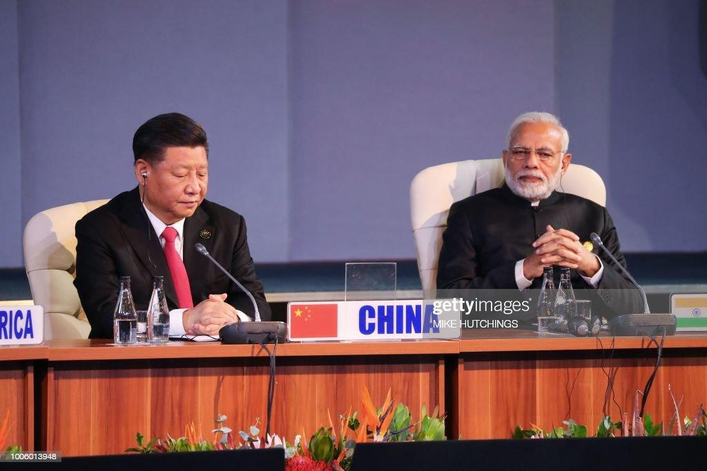 SAFRICA-ECONOMY-SUMMIT-BRICS : News Photo