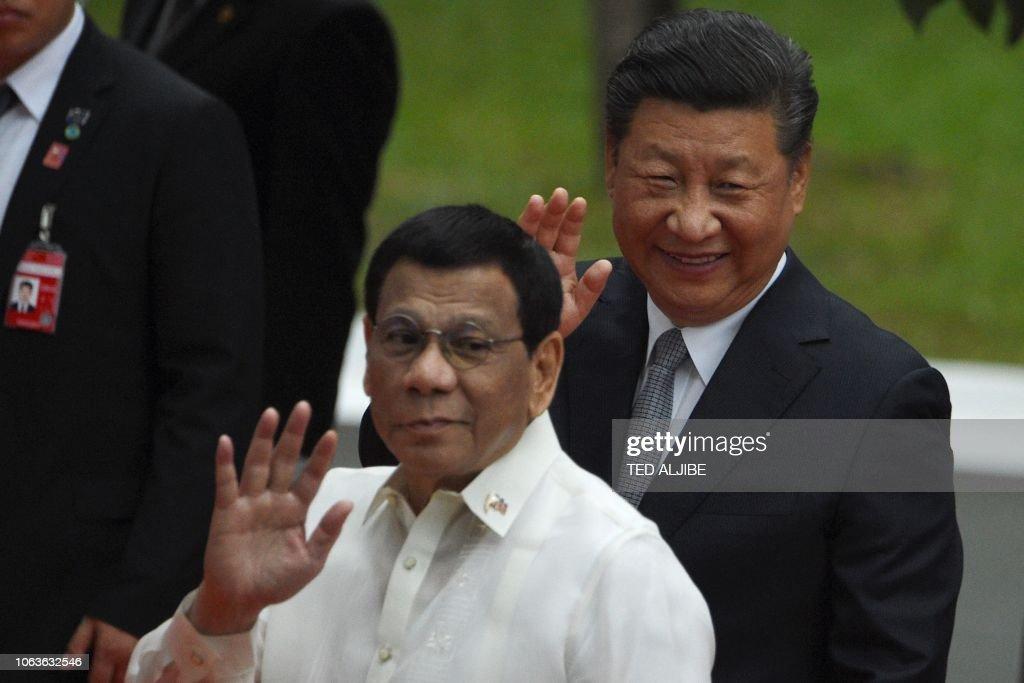 PHILIPPINES-CHINA-DIPLOMACY : News Photo