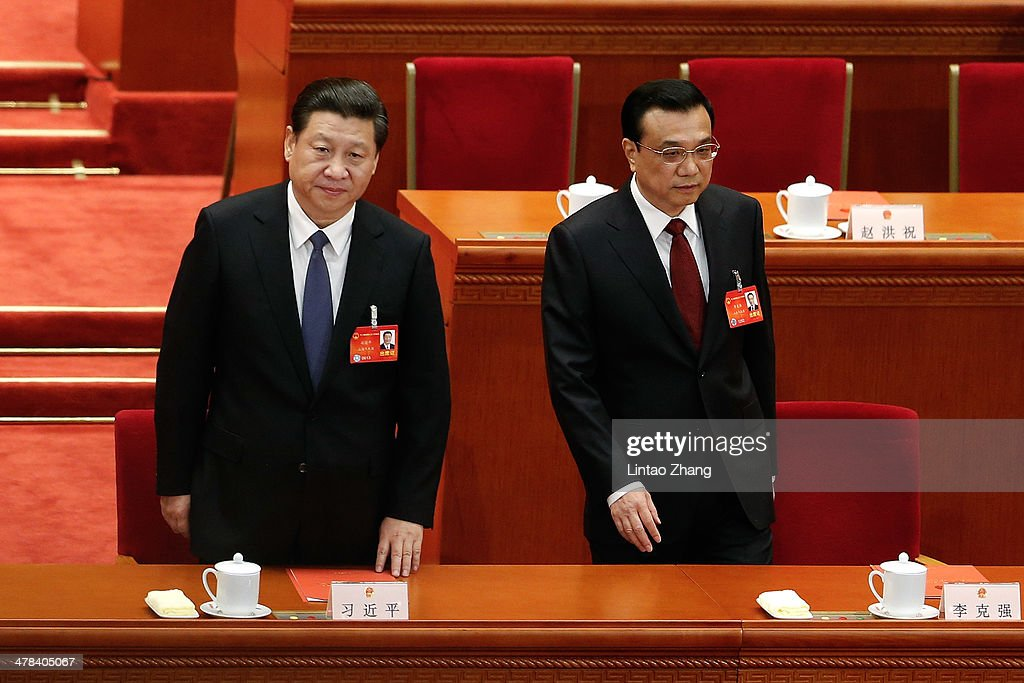China's National People's Congress - Closing Ceremony : News Photo