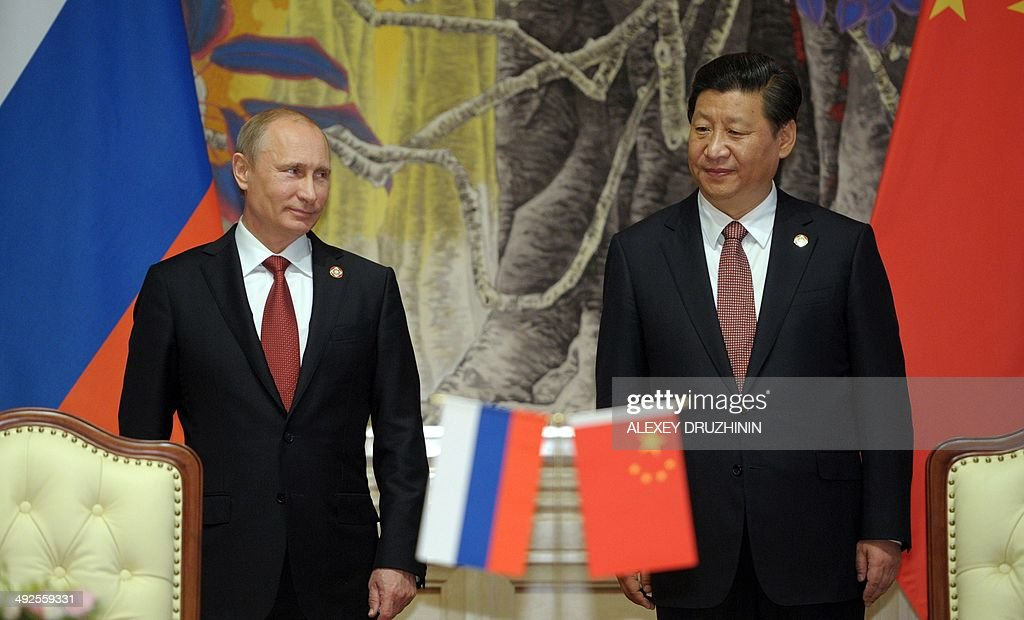 CHINA-RUSSIA-ENERGY-DIPLOMACY : News Photo