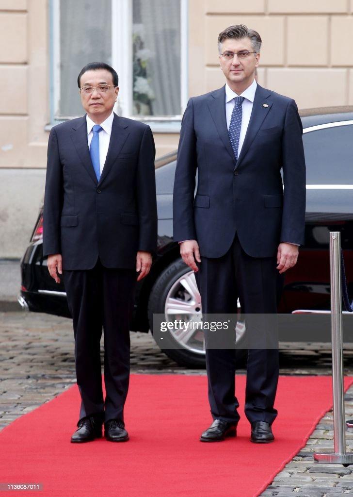 CROATIA-CHINA-DIPLOMACY : News Photo