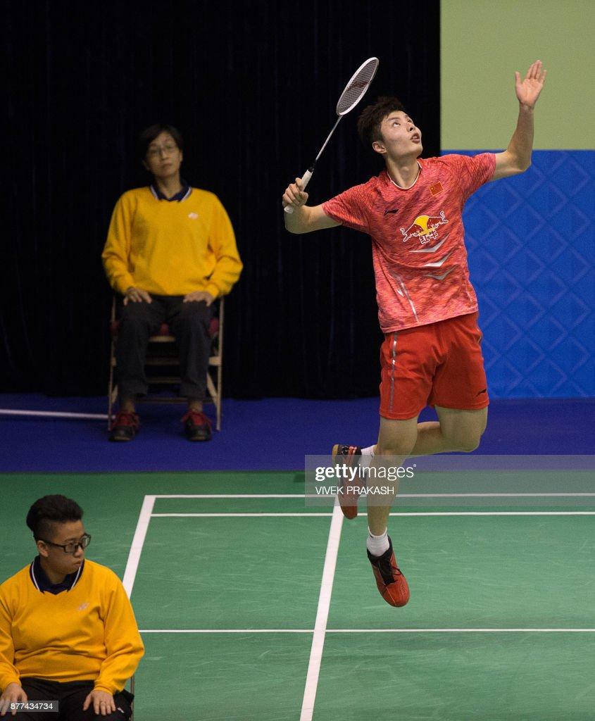 Hong Kong Open badminton tournament