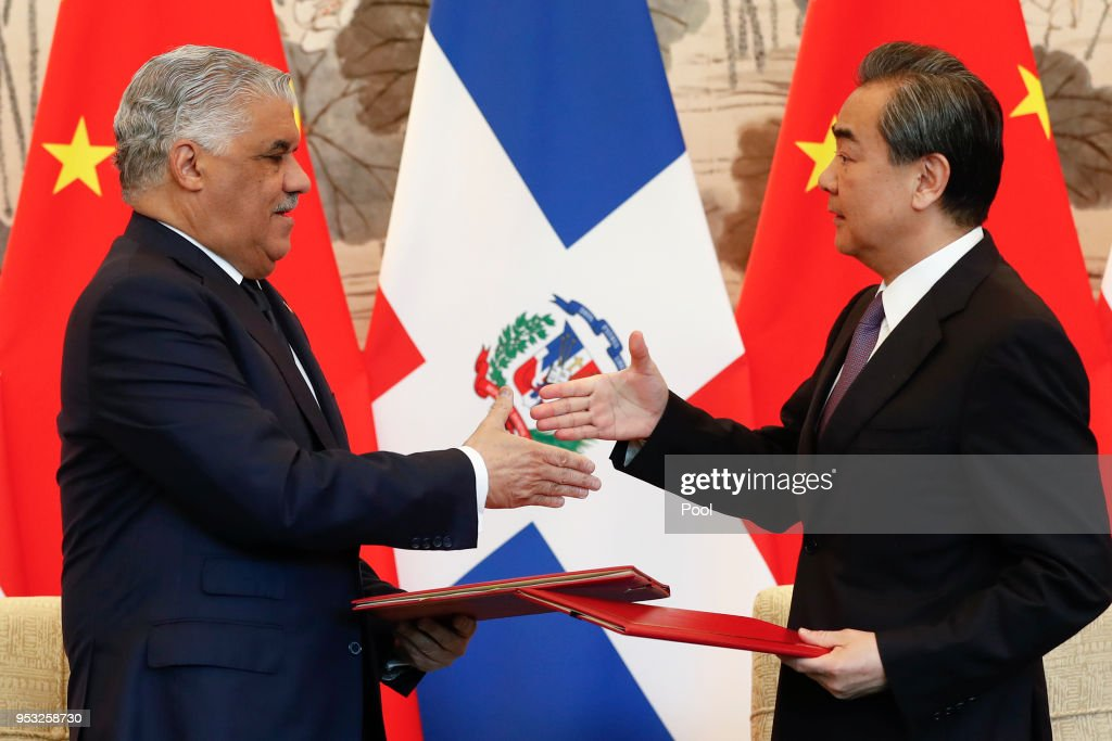 Dominican Republic's Chancellor Miguel Vargas Visits China