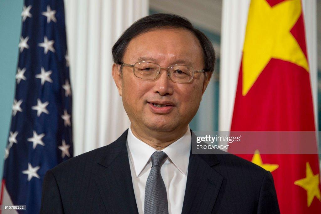 US-CHINA-DIPLOMACY : News Photo