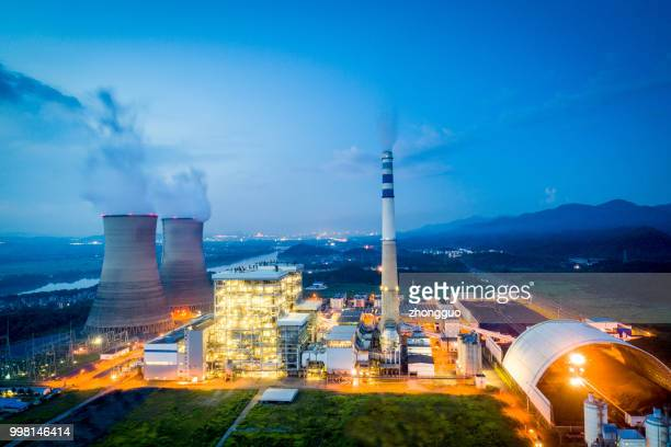 china's urban aerial power plant - vaseline stock pictures, royalty-free photos & images