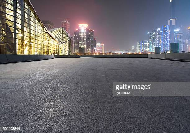 China,Shenzhen at night,Cityscape.
