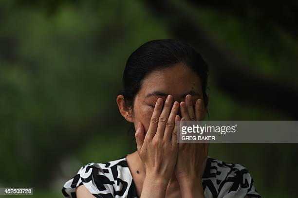 ChinasocialwomencrimeFEATURE by Felicia Sonmez This photo taken on July 17 2014 shows Ma Shuyun during an interview in Beijing as she describes...