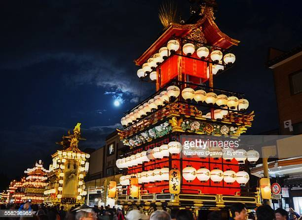 chinatown at night - takayama city stock pictures, royalty-free photos & images