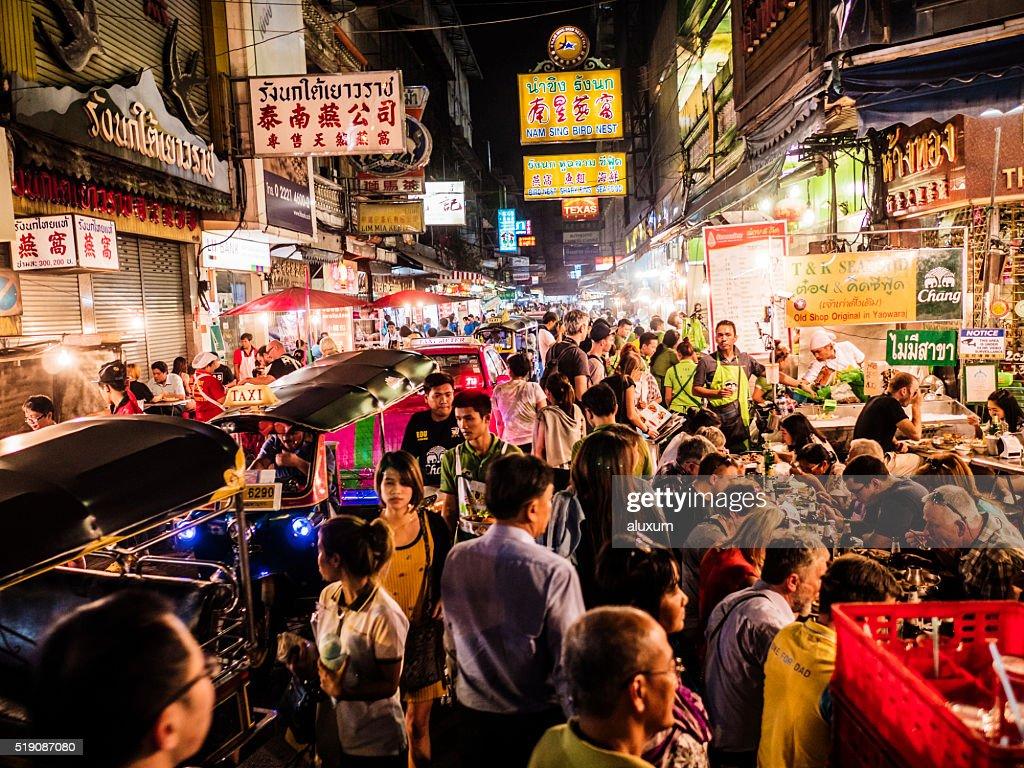 Chinatown Bangkok Thailand : Stock Photo