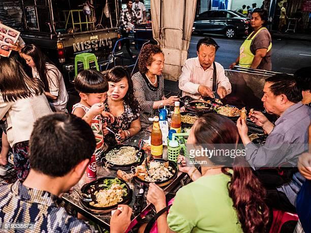 Quartier chinois de Bangkok, en Thaïlande