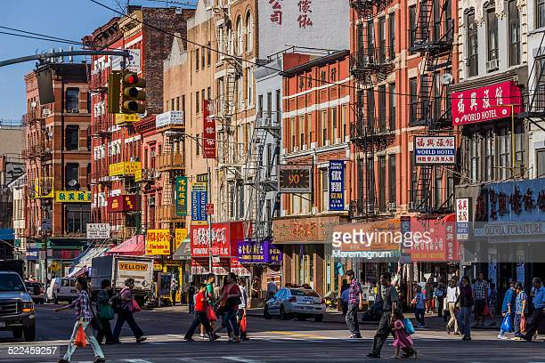 chinatown, bowery - chinatown stock pictures, royalty-free photos & images