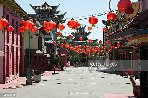 Chinatown, Downtown LA, Los Angeles County, California, USA