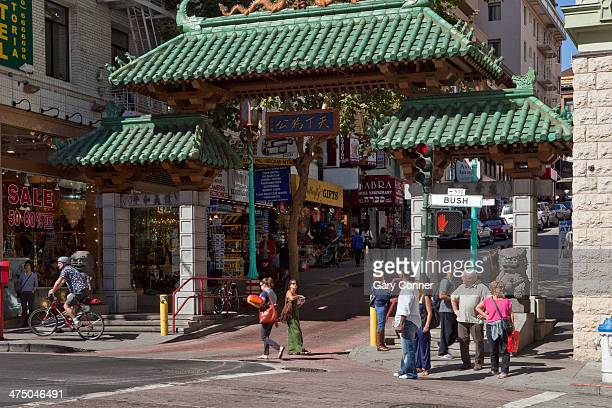 Chinatown Gate on Grant Street