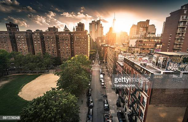 chinatown in manhattan - canal street manhattan stock pictures, royalty-free photos & images