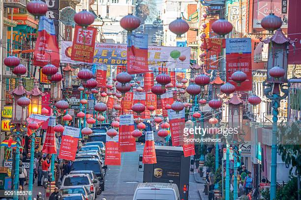 Chinatown, à San Francisco, en Californie