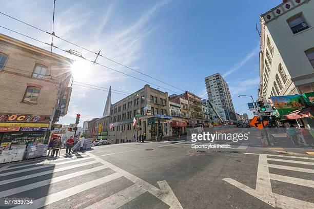 Chinatown in San Francisco, California