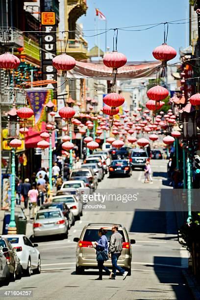 チャイナタウンでサンフランシスコ - 中華街 ストックフォトと画像