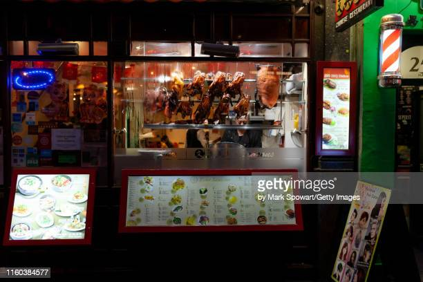 chinatown - london england - greater london stock pictures, royalty-free photos & images