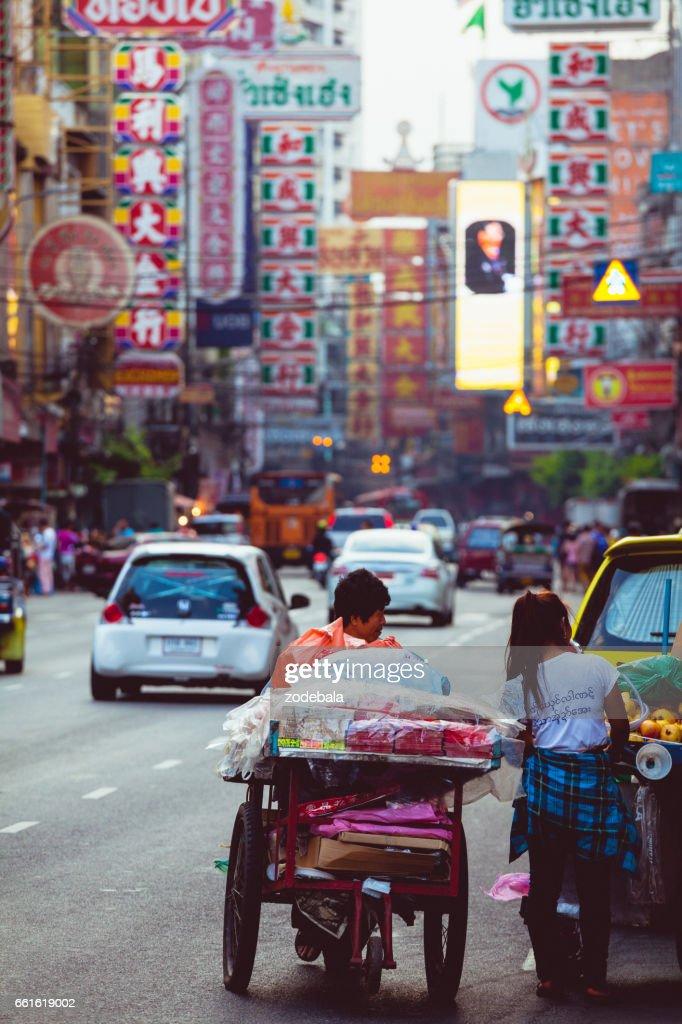 Chinatown of Bangkok, Thailand : Stock Photo