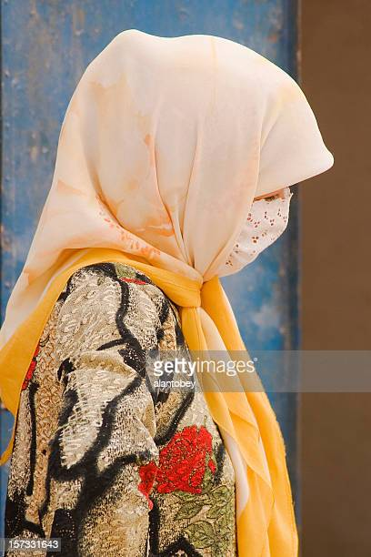 China:Turkic Muslim Woman in Xinjiang
