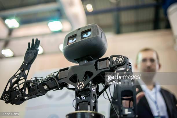 ChinaUkraine Scientific Exhibition of Technologies and Innovations is held in Kiev Ukraine on November 21 2017