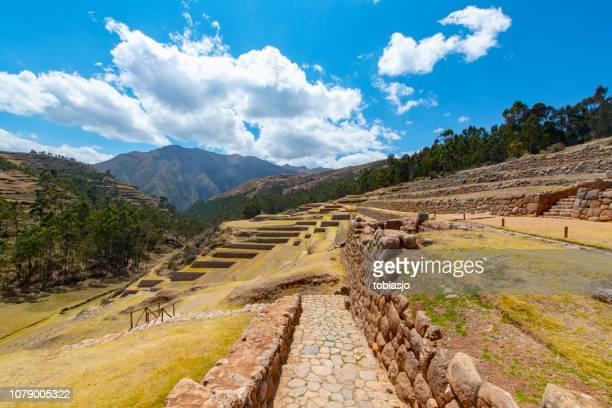 Chinchero Inca ruins in the Sacred Valley, Peru
